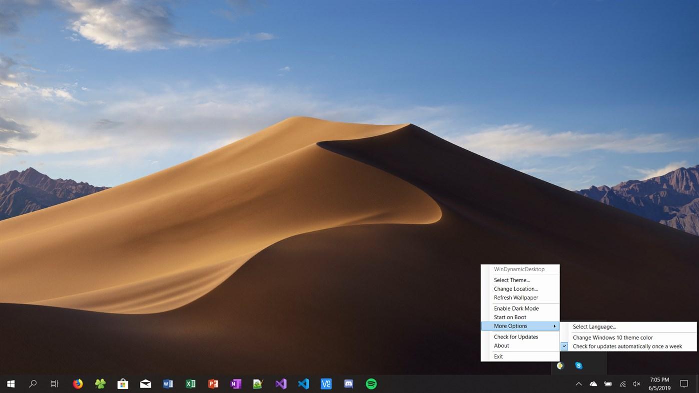 Как бесплатно настроить динамические обои в Windows 10